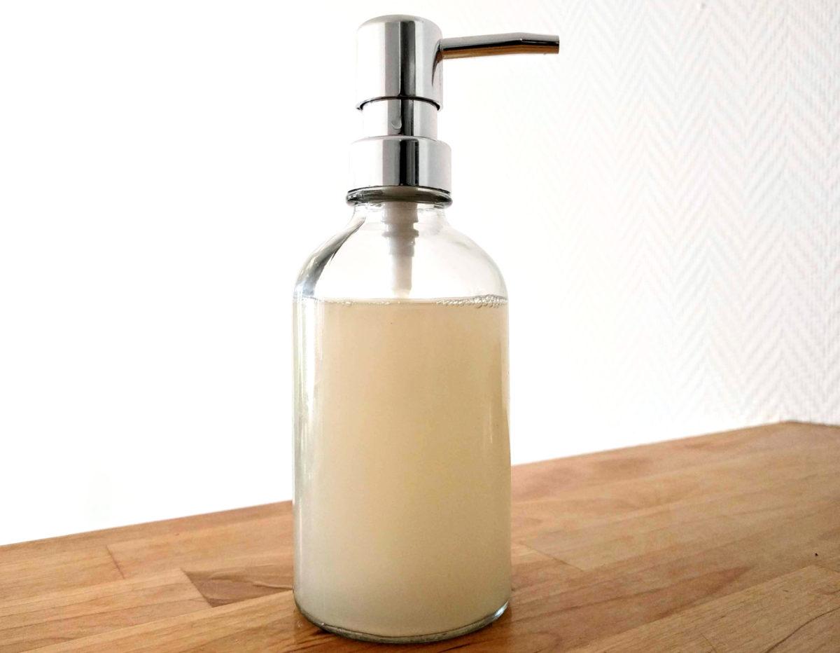 Liquide Vaisselle Maison Au Savon Noir Recette Facile Et Efficace